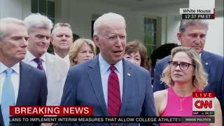 "Breaking: Biden on infrastructure: ""We have a deal."""