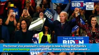 Joe Biden's Running Mate is Kamala Harris
