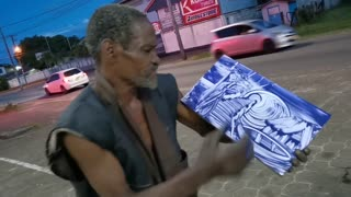Amazing Street Artist From Suriname Video
