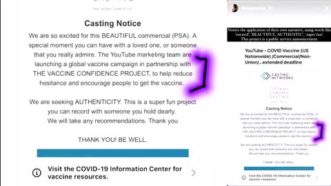 They are Paying Models & Actors to tell u to take the Vaccines