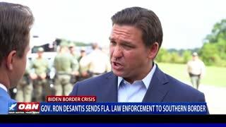 Gov. Ron DeSantis sends Fla. law enforcement to southern border