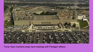 Trump Pentagon Meetings