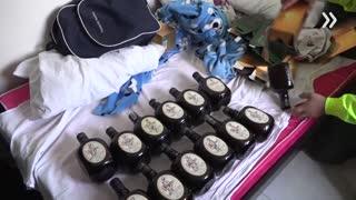 Operativo contra contrabando en Bucaramanga