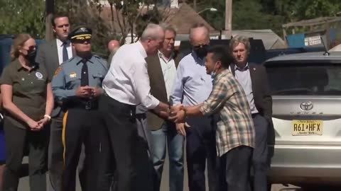 """MUST WATCH: Man Yells At Biden In New Jersey """"Resign, You Tyrant!"""""""