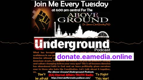 """The Above-Ground Underground Ep31 ~ The """"Untied"""" States of Indoctrination"""