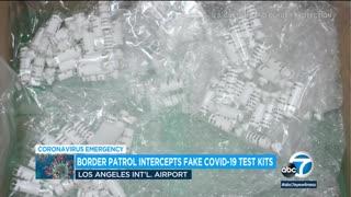 Fake COVID-19 test kits seized at LAX
