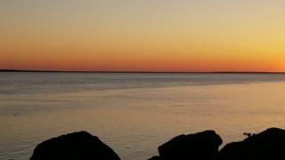 Beautiful sunset Washington