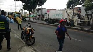 Accidente de tránsito en la carrera 9 con 44