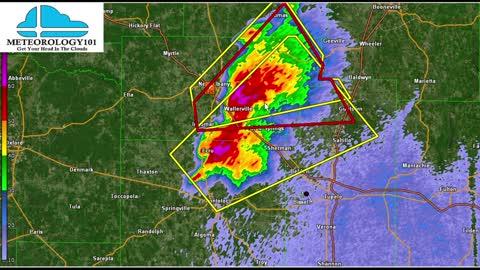Tornado Warning in Mississippi