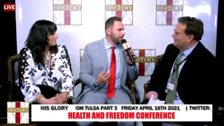 Pastor Jackson Lahmeyer:Health and Freedom Conference Tulsa Day 1