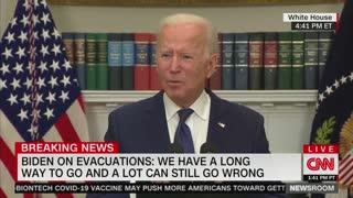 Biden Defends Afghanistan Withdrawal