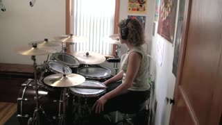 Lay It On The Line by Triumph ~ Drum Cover