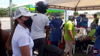 Así avanza la jornada de vacunación en Cartagena