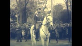 Prvomajska parada u glavnim gradovima Jugoslavije 1954. godine