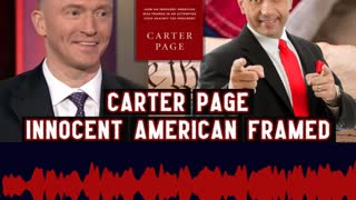 Carter Page Shares how President Trump Stays Focused no Matter the Odds!