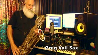 Bari Sax- Baritone Saxophone - Greg Vail What's New Greg Vail Jazz live studio