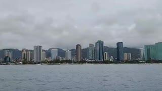 Sunset Cruise Waikiki, Oahu Hawaii 10/17