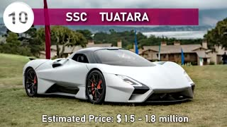 Most 10 Expensive Cars In The World