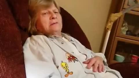 Pissing Off Grandma LMAO Funny Prank!!!