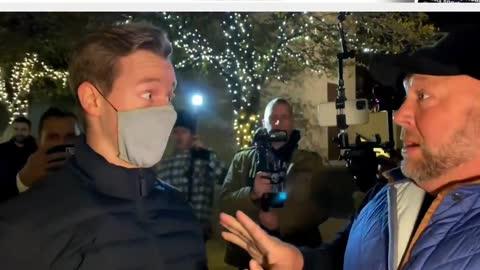 Alex Jones RIPS Liberal's Mask Off!
