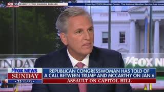 "Kevin McCarthy on ""Fox News Sunday"""