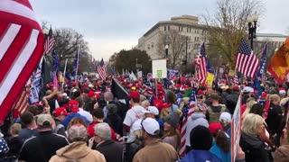 Jericho March Crowd Size