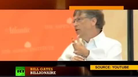 Bill Gates Depopulation Plans Caught On Camera