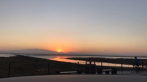 Sunrise in San Diego California