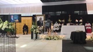 Funeral service for Joburg mayor Geoffrey Makhubo