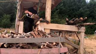 Firewood hack