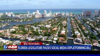 Fla. Legislature passes social media deplatforming bill