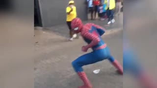 South African Spiderman