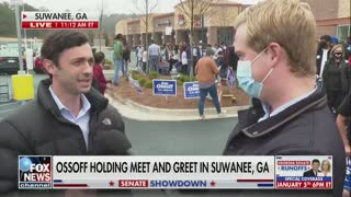 Reporter Presses Ossoff On China — His Response Says It All