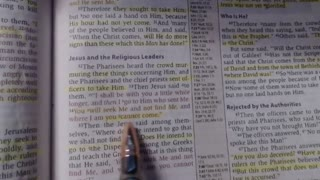 Bible study - John 7:32-53 - NKJV
