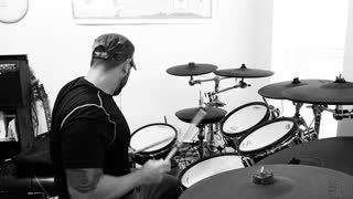 """TEST - Rob Zombie """"Superbeast"""" Drum Cover"""
