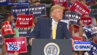Trump slams Democrats for 'bull***t impeachment'
