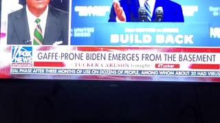 Biden's nostrils