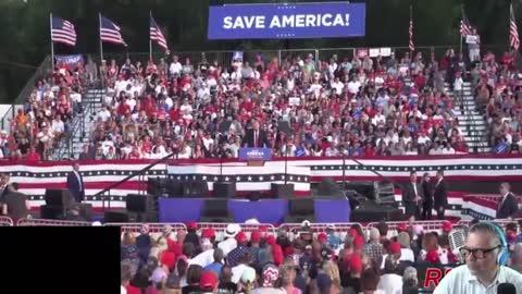 Prezydent Trump, pełne przemówienie z wiecu 26.06.2021 Wellington, OH