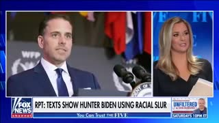 More on hunter Biden's racist text messages