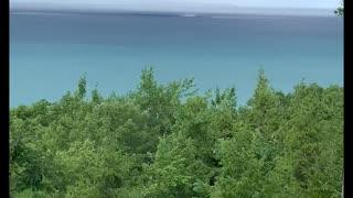Waterspout on Lake Michigan