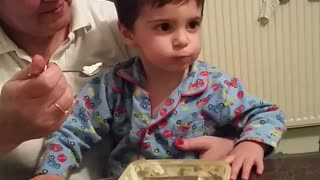 Kid just wants some ice cream