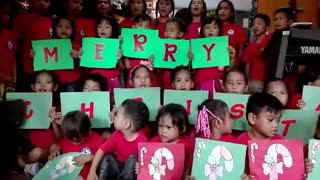 Merry Christmas from the Payatas Kids