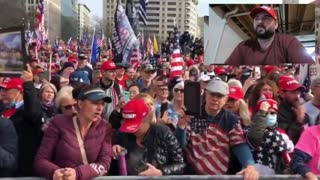 Trump supporters protest in Washington, D.C. REAL PEACEFUL PROTEST