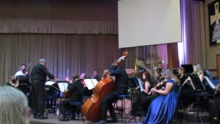 The East Rand Youth Orchestra playing Hallelujah