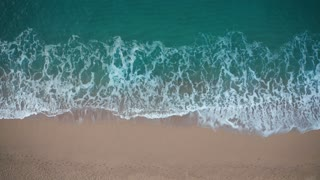 Drone view of beautiful seamless never ending footage