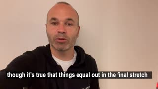 Barcelona great Iniesta offers his tip for the final weeks of LaLiga title race