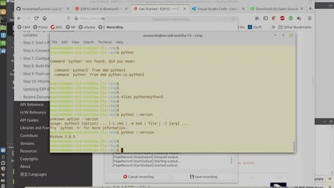 Lua EOS - ESP32 Toolchain Setup (Linux)