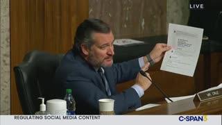 Senator Ted Cruz does an excellent job of exposing Twitter's Jack Dorsey