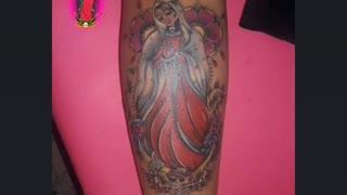 Tattoo virgen maria