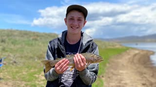 Strawberry Reservoir, fishing with the kids